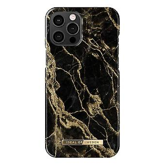 iDeal Of Sweden iPhone 12 Pro Max Shell - Golden Smoke Marble