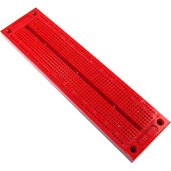 700pt Red Solderless Breadboard