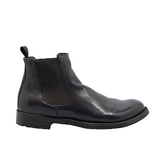 Officine Creative Hive007 Men's Brown Leather Ankle Boots