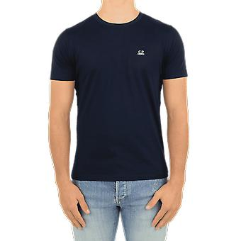 C.P.Company T-Shirts - Short Sleeve Blue 09CMTS024A005100W888 Top