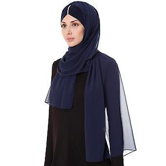 Praktisk One Piece Chiffon Hijab