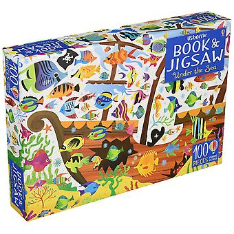 Usborne Book and Jigsaw Puzzle Under The Sea