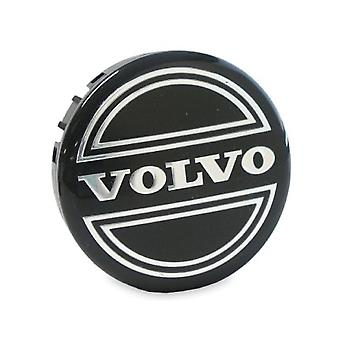 Black Volvo Car Wheel Center Caps Hub Cover 65mm 1 PCS For C70, S60, V60, V70