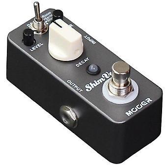 Mooer shimverb, digital reverb micro pedal