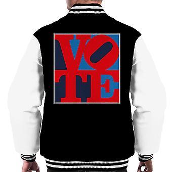 Vote Logo RWB Homme's Varsity Jacket