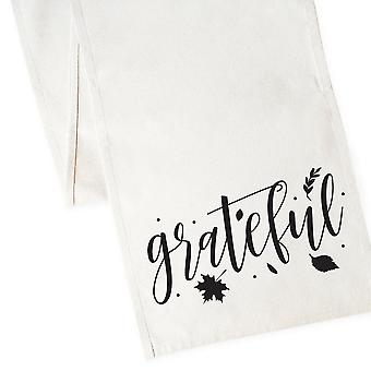Grateful-cotton Canvas Table Runner