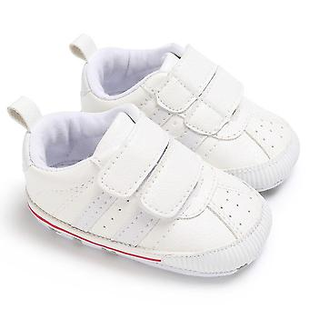 Baby 0-18m Soft Sole Hook Loop Prewalker Sneakers, Baby Crib Shoes  Leather