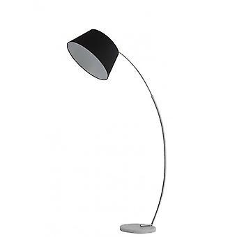 Chrome Design Stehlampe 1 Glühbirne