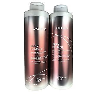 Joico trodser skader shampoo & balsam duo liter 33,8 oz