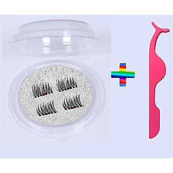 Long Reusable, False Eyelashes With 5 Magnets