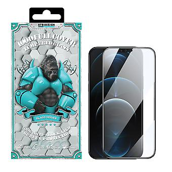 iPhone 12 and 12 Pro Screen protector - Tempered Glass 100D