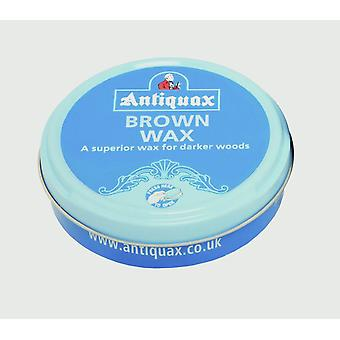 Antiquax Original Wax Polish Brown - 100ml