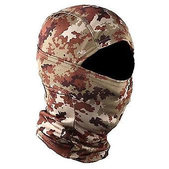 Kamuflasje militære taktiske balaclava / hjelm liner hodeplagg full ansiktsmasker