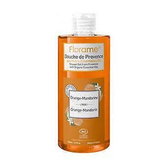 Orange and tangerine shower gel 500 ml of gel