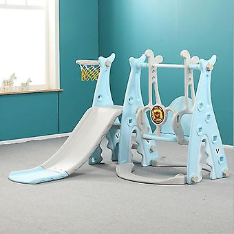 3 w 1 zjeżdżalnia i huśtawka z koszykówki hoop zestaw- plac zabaw dla dzieci