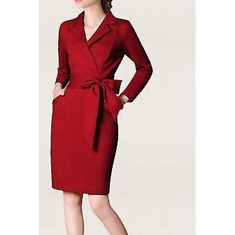 Women Office Wear Summer Dress