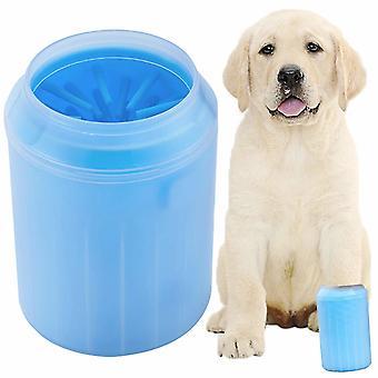 Pulitore di zampe per cane Large Blue