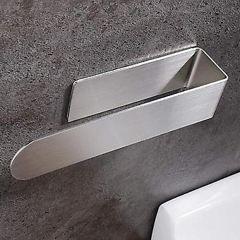 Stainless Steel Towel Holder Without Drilling Self Adhesive Towel Holder Bathroom Towel Rack Towel