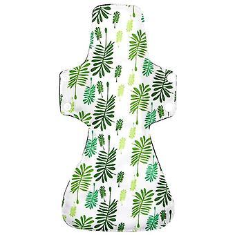 Bamboo Charcoal Reusable Pads, Waterproof Pul Washable Sanitary Napkin Pad