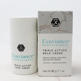 Exuviance Triple Action Neck Cream  1.7oz/50g New With Box