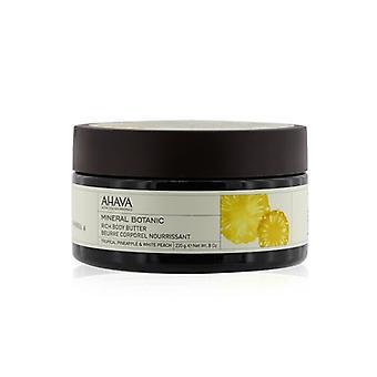 Ahava mineral botanic Velvet Body unt-ananas tropical & alb Peach 235g/8oz