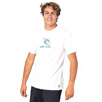 Rip Curl Männer's T-Shirt - Icon verwendet weiß