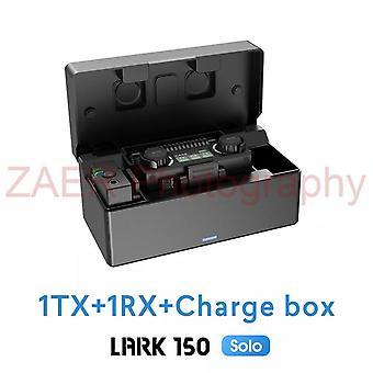 Hollyland lark 150 منفردا 2.4ghz مجموعة ميكروفون لاسلكي مع صندوق الشحن lark150 منفردا lavalier هيئة التصنيع العسكري للفيديو لايف لهاتف ذكي
