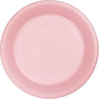 Plt10 Plate 12/20Ct Classic Pink