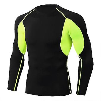 Long-sleeve, Gym Dry-fit, Sport Running, Tight T-shirt