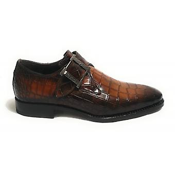 Men's Shoes Harris Buckle Print Coconut Ochre/ Antique Hazelnut U17ha92