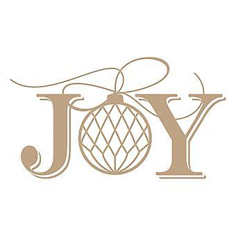 Spellbinders Glimmer Plate - Joy Holiday
