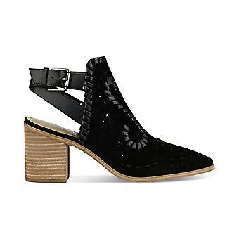 Ivanka Trump Womens Dora Leather Closed Toe Casual Ankle Strap Sandals