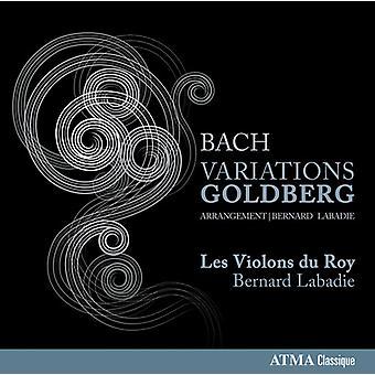 Bach, J.S. / Les Violons Du Roy - variaties Goldberg [CD] USA import