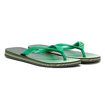 Havaianas Brasil Friske Herre Olive Green Flip Flops