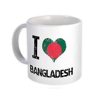 هدية القدح : أنا أحب قلب بنغلاديش