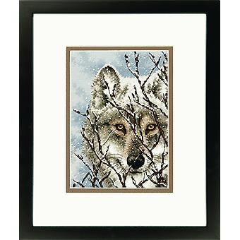 Dimensions Gold Petite: Counted Cross Stitch: Wolf