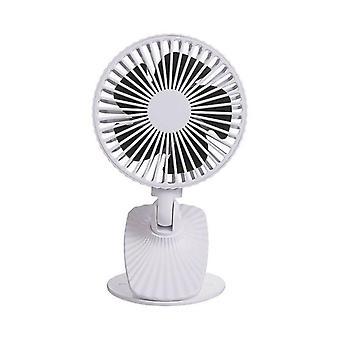 Ventilateur mini pendaison de cou usb chargeant le bureau portable créateur secouant le ventilateur de clip de tête