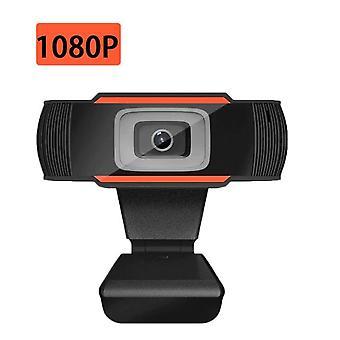 Webcam USB 2.0 PC Camera HD Video Record Webcam Web Camera With MIC Webcams(1080P)