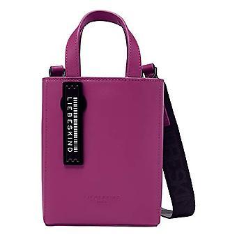 Liebeskind Berlin Paper Bag Tote, Women's Shopper Bag, Roseberry, X-Small