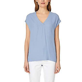 s.Oliver BLACK LABEL 11.904.32.4507 T-Shirt, Blue (Nice Blue 5339), 44 (Size Manufacturer: 38) Woman