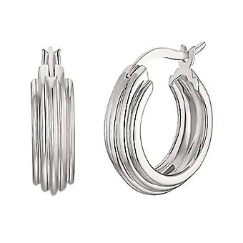 NOELANI Women's hoop earrings, sterling silver 925(6)