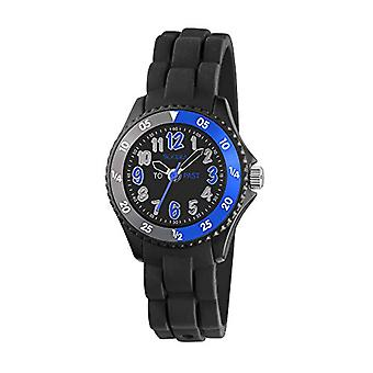 Tikkers children's quartz watch with black dial and black silicone strap TK0116(2)