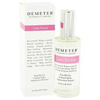 Demeter Lotus Blume von Demeter Köln Spray 4 Oz (Frauen) V728-517069