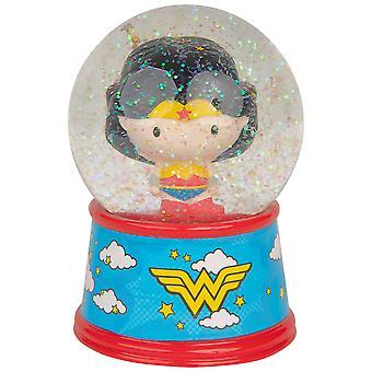 """Ihmenainen Chibi 6"""" sytytä lumisadepallo"""