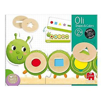Educational Game Oli Shapers & Colors Diset Wood