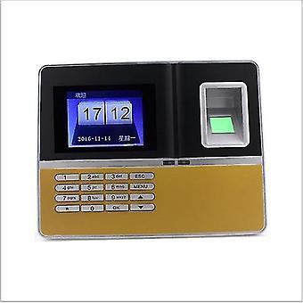 Uku H6 Máquina de asistencia de huellas dactilares Sign-In Fingerprint Puncher Identificación Firma Inglés A