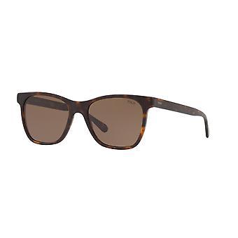 Polo Ralph Lauren PH4128 5602/73 Vintage Dark Havana/ Brune solbriller