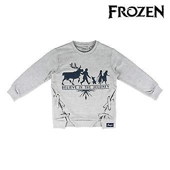 Hoodless Sweatshirt for Girls Frozen 74244 Grey