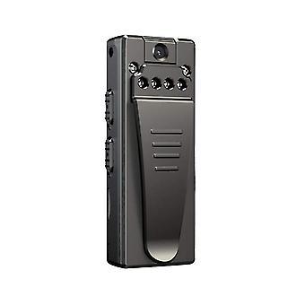 Mini Kamera Recorder 1080P Kleine drahtlose Mini-Kamera, Geeignet für Sicherheit, Kamera - 64GB (Schwarz)