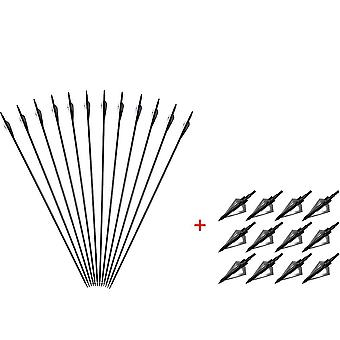 Mixed Carbon Arrows Bow For Hunting Sports Shooting - Recurve/compound